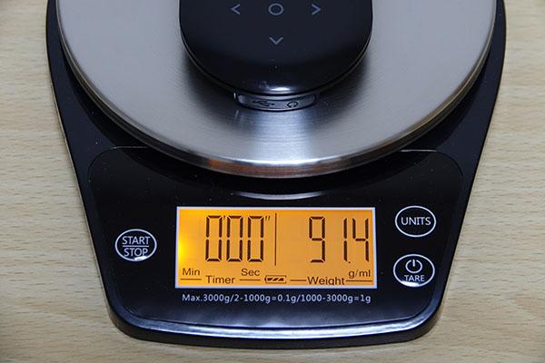 ポケトーク本体の重さ