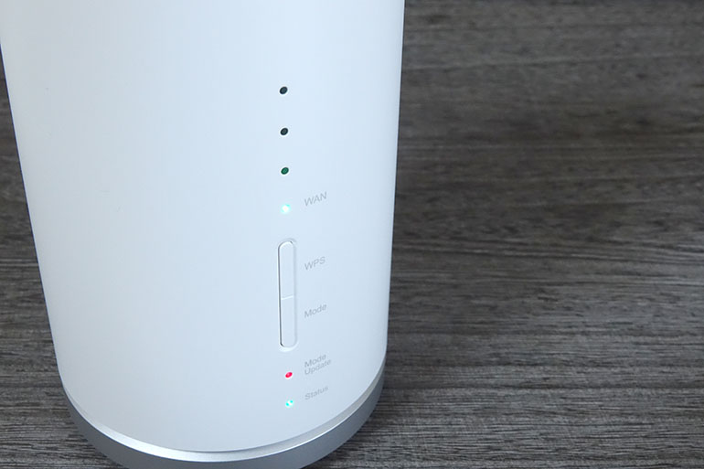 ホームルーター「Speed Wi-Fi HOME L01」