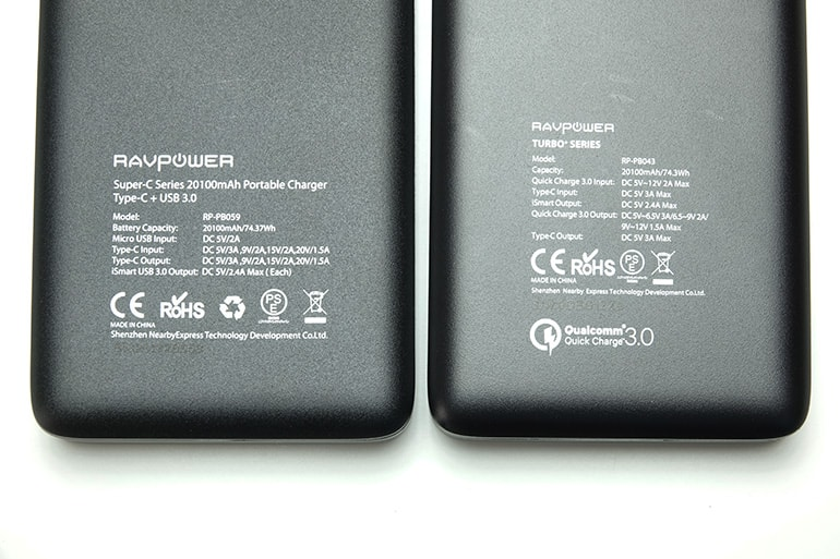 RAVPower 20100mAh Type-Cの購入レビュー14