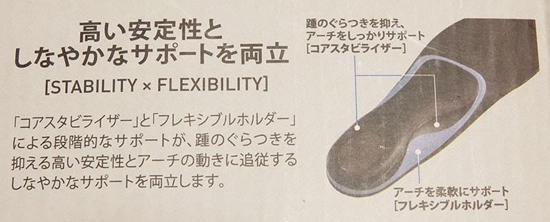 ZAMST Footcraft の製品特徴