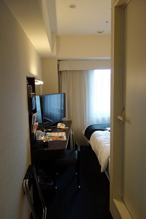 アパホテル肥後橋の客室