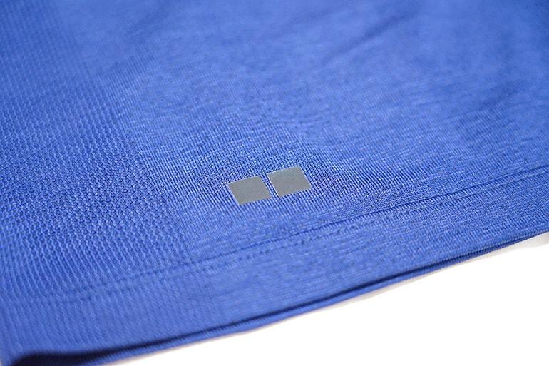 ユニクロのドライEXポロシャツのロゴタイプ