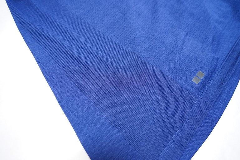 ユニクロのドライEXポロシャツのメッシュ部分
