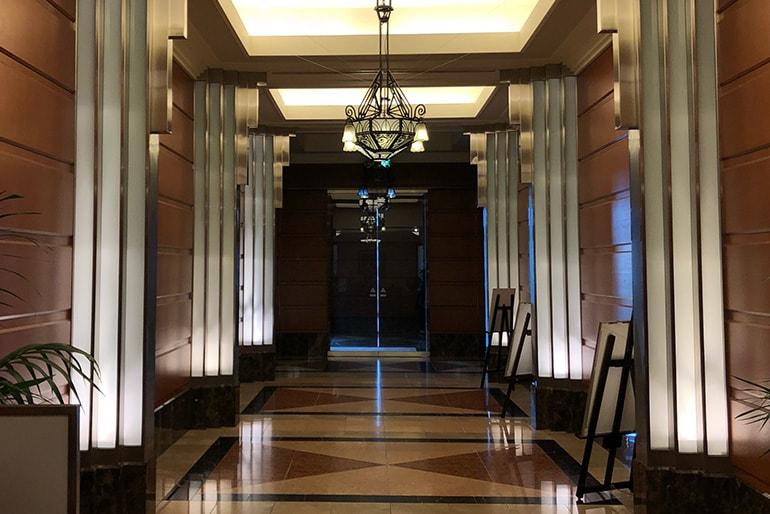 ホテルモントレラ・スール大阪の館内