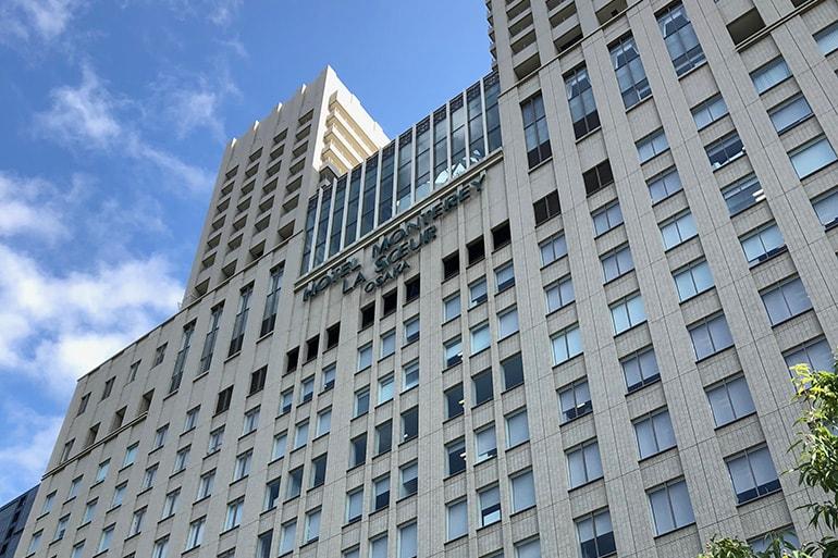 ホテルモントレラ・スール大阪の外観