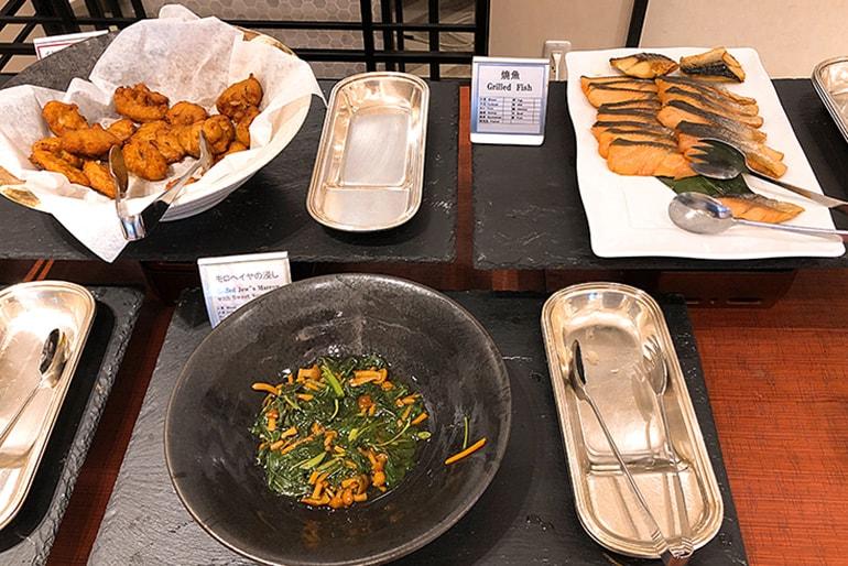 ホテルモントレラ・スール大阪の朝食(和食)