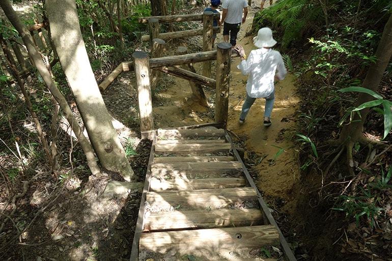 生駒山麓公園フィールドアスレチック「生駒の伝説めぐり」その4