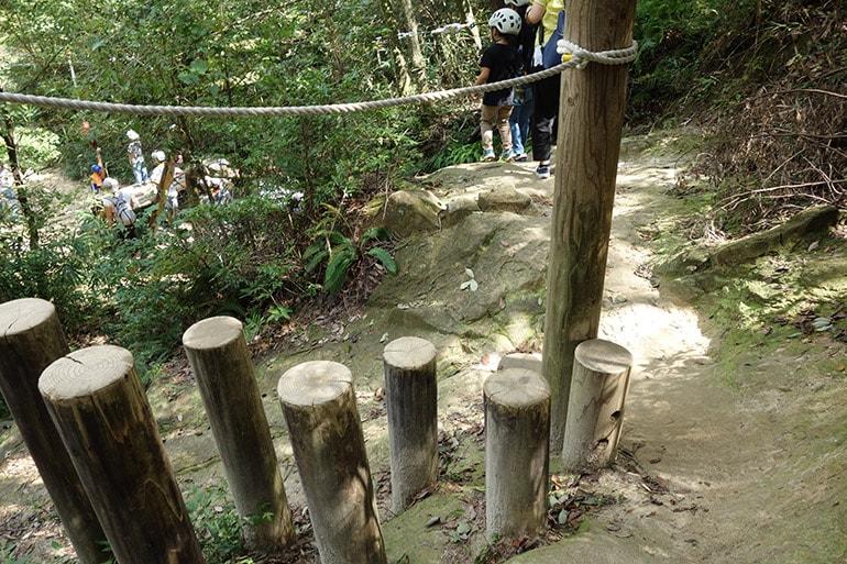 生駒山麓公園フィールドアスレチック「ハエ上がり(萩原町)」その2