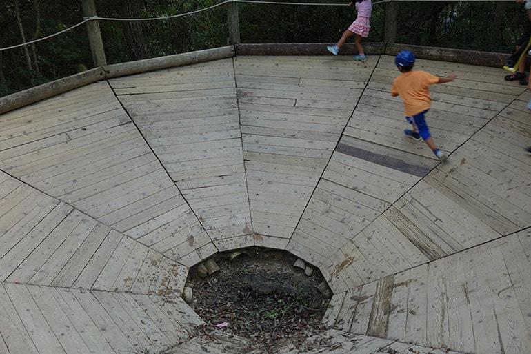 生駒山麓公園フィールドアスレチック「湯舟まわり(菜畑町)」そ