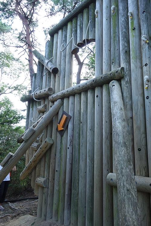 生駒山麓公園フィールドアスレチック「旗掛山・金鵄の輝き(小平尾町)」その1
