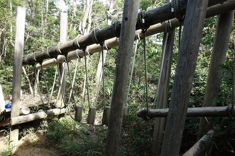 生駒山麓フィールドアスレチック「おまつの宮散歩(南田原町)」その6