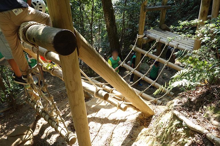 生駒山麓フィールドアスレチック「教弘寺でおまいり(小倉寺町)」その1