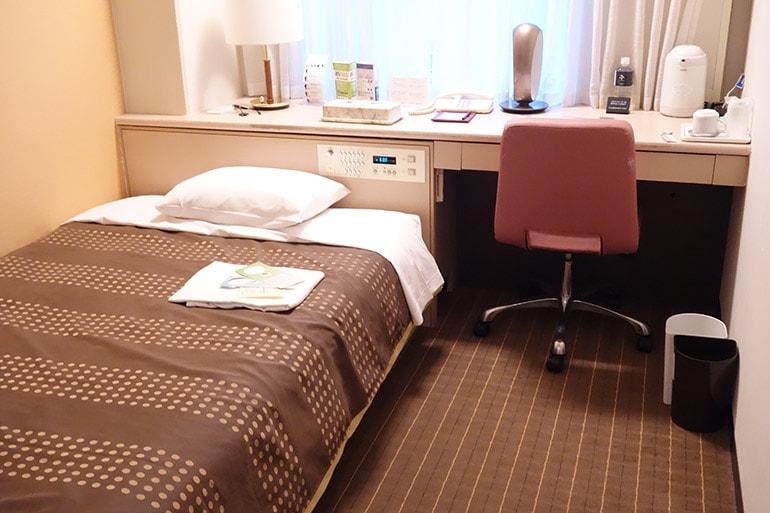 新阪急ホテルの客室