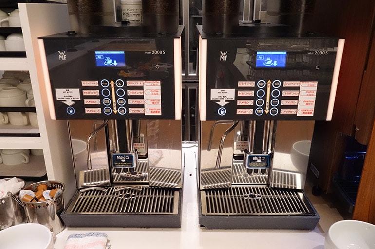 オリンピアの朝食バイキング「ドリップ式コーヒー」