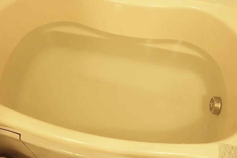 お風呂の湯船