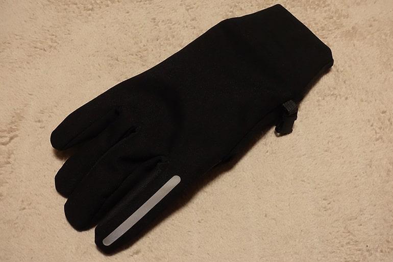 セブンイレブンのスマホ対応手袋の生地